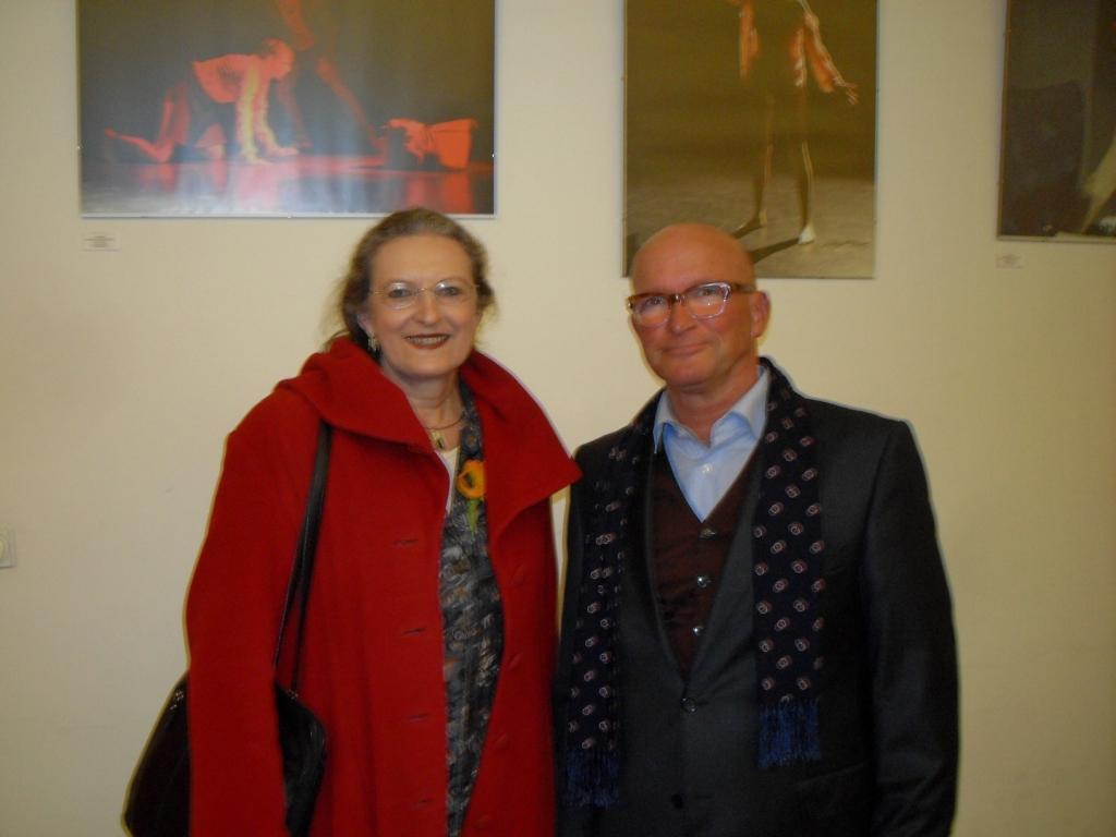 Monika Thiemen und Ronald R. H. Uecker | Fotos © Matthias Shaffi